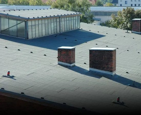 Flat Roof Roofing Installation in Denver